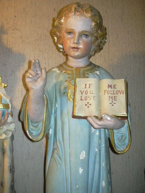 RESERVED FOR RAPHAEL Church Size DaPrato Child Jesus Statue