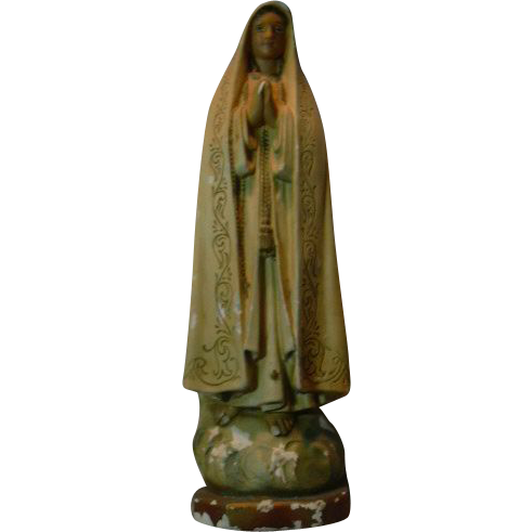 Virgin Mary Our Lady Fatime Statue