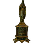 Virgin Mary Our Lady French Metal Statue