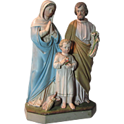 Holy Family Old Statue