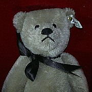 1983 Richard Steiff Silver Teddy Bear