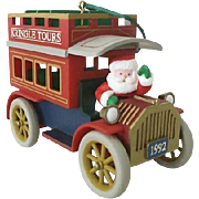 Hallmark Ornament 1992 Kringle Tours