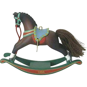 Hallmark Ornament 1994 Rocking Horse