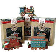 Hallmark Ornament Claus Co. Railroad