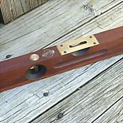 Stanley Sweetheart 16-inch Wood Plumb-Level No. 104