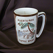 Souvenir Coffee Mug From Puerto Rico
