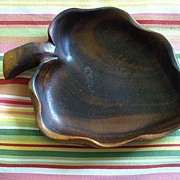 Hawaiian Monkey Pod Small Leaf Bowl