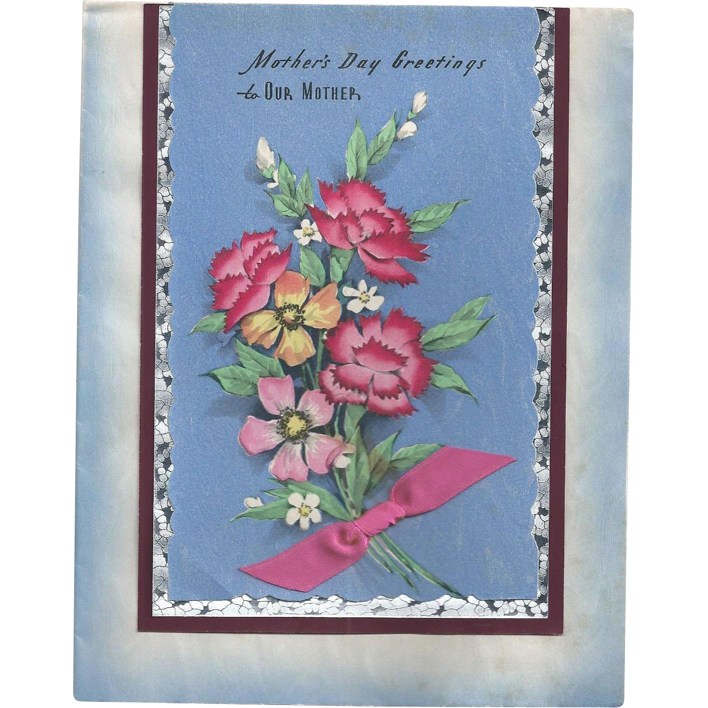 Mother's Day Greeting Card 1950s
