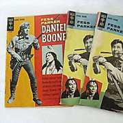 Daniel Boone Comic Books No. 2 and No. 4