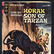 Korak Son of Tarzan No. 4 Comic Book Gold Key