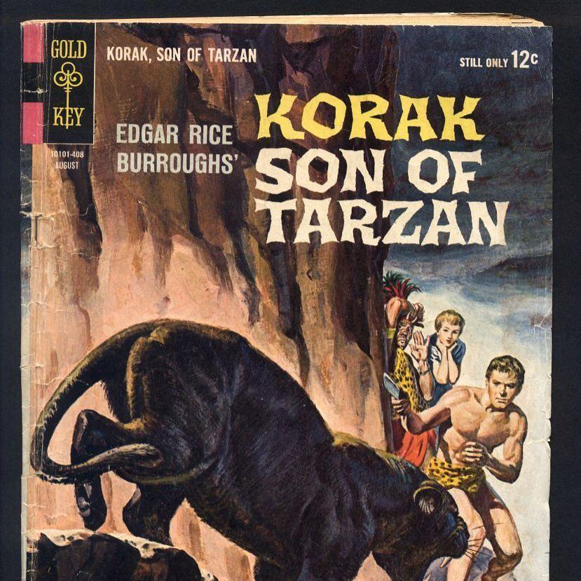 Korak Son of Tarzan No. 4 Comic Book Gold Key