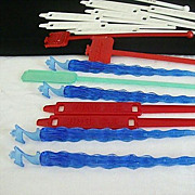 Collection Of Colorful 1950's Plastic Swizzle Sticks