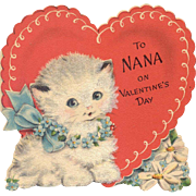 Hallmark Valentine Card To Nana