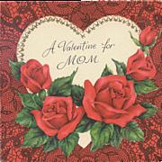 Hallmark Valentine Greetings For Mom - Dated 1951