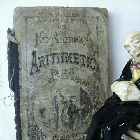 Antique Arithmetic Book Part 3 - Published 1877