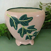 Hand Painted 1950's Ceramic Planter