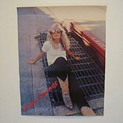 Kim Carnes Vintage Poster