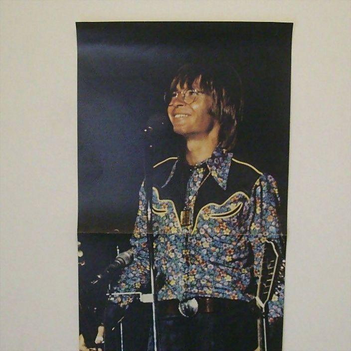 Country Singer John Denver 1970's Poster