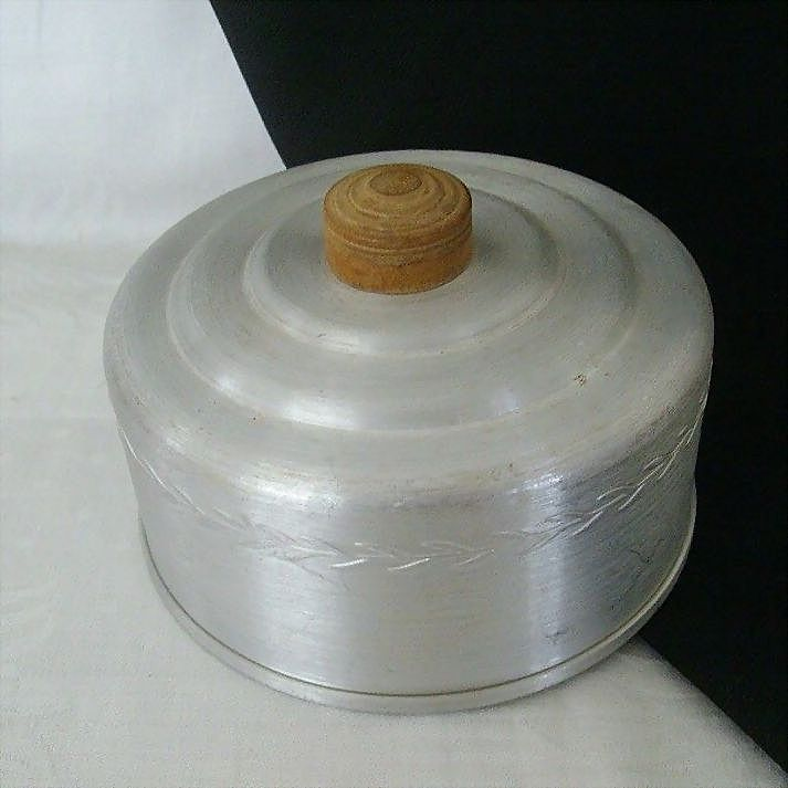 Spun Aluminum Cheese Cover Lid