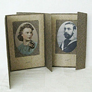Matching Cardboard Tri-fold Studio Picture Frames