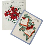 Christmas Wishes For Mother 1940s