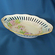 Hand Painted Heirloom Porcelain Serving Dish