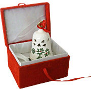Baum Brothers Formalities Christmas Bell