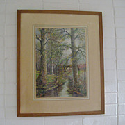William Savery Bucklin Large Framed Print
