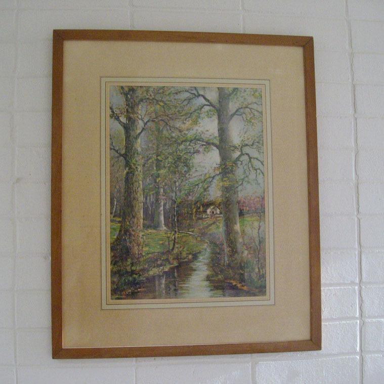 William Savery Bucklin Large Framed Print