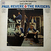 Paul Revere & The Raiders Just Like Us 1966