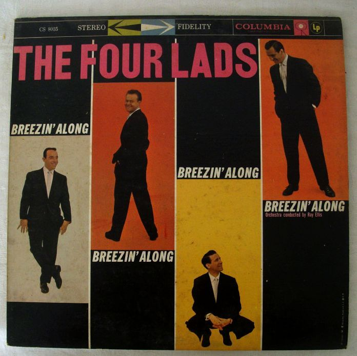 Four Lads Original 1958 Recording With Columbia 6-Eye Label