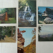 Smoky Mountain National Park Postcard Collection