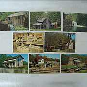 Smoky Mountain Cades Cove Postcard Collection