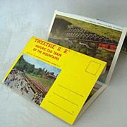 Tweetsie Railroad NC Souvenir Postcard Mailer