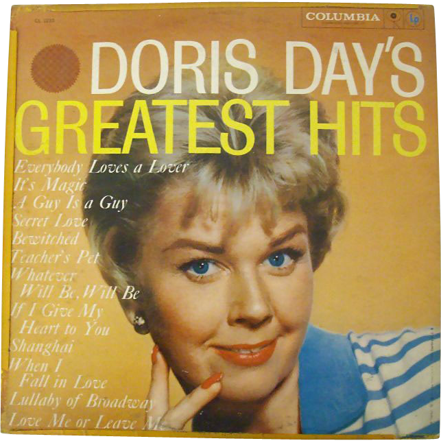 Doris Day Greatest Hits 1965 Columbia 6-Eye Label