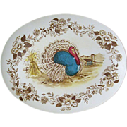 Melmac Royal Nottingham1970s Turkey Platter
