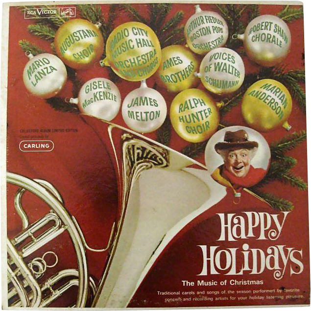 Happy Holidays 1962 RCA LP Recording