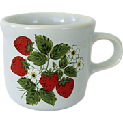McCoy Strawberry Small Mug