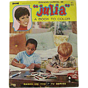 Coloring Book Features Julia (Diahann Carroll)