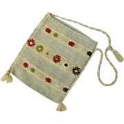 Handmade Embroidered Turkish Kilim Handbag
