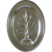 Castleton Footed Silverplate Oval Platter
