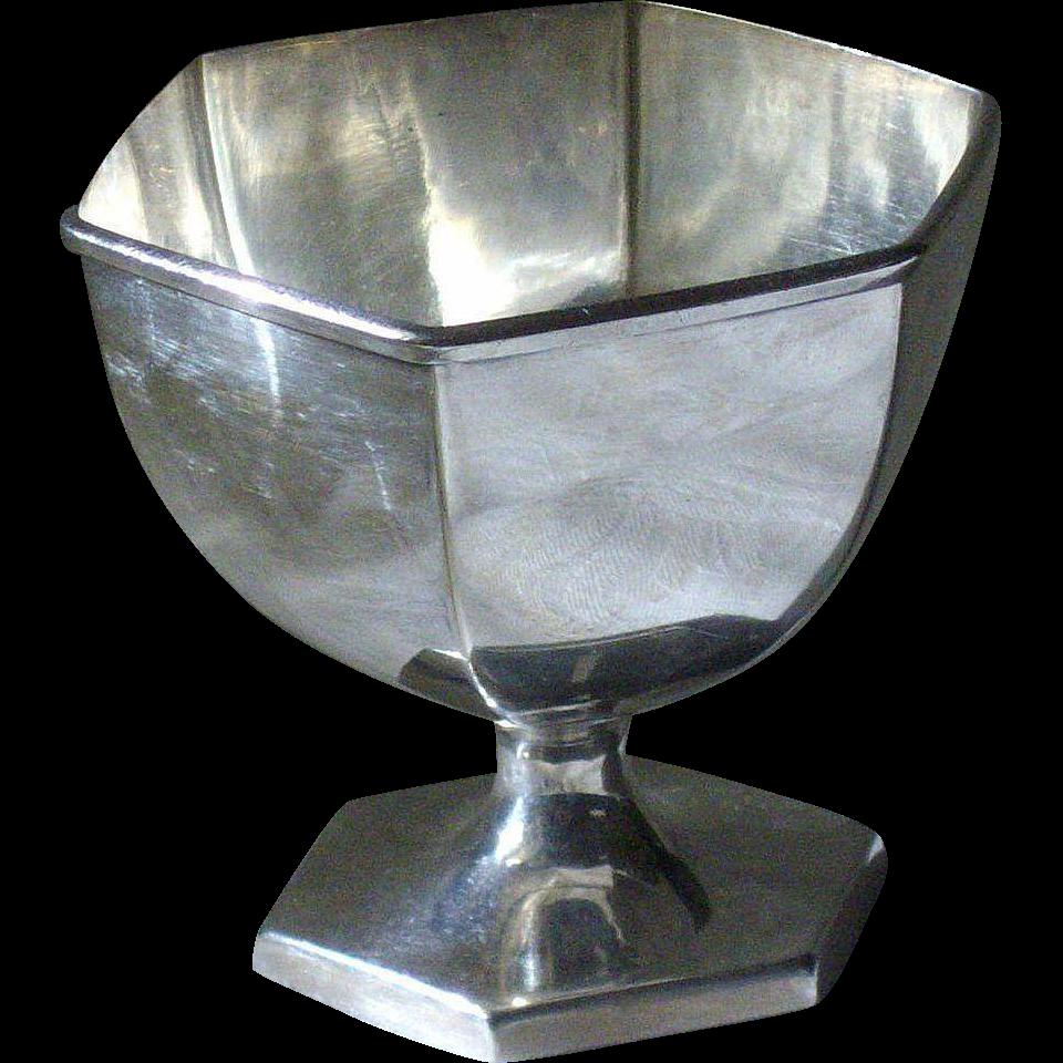Meriden Silver Plate Small Sugar Bowl