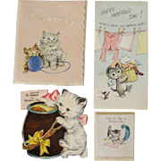 Mothers Day Cards With Cute Kittens