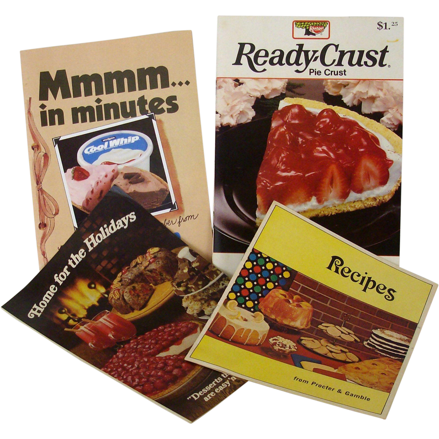 Cook Booklets With Dessert Recipes