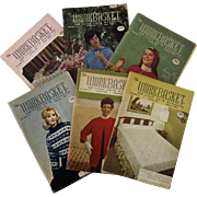 Work Basket Vintage Magazines 1967