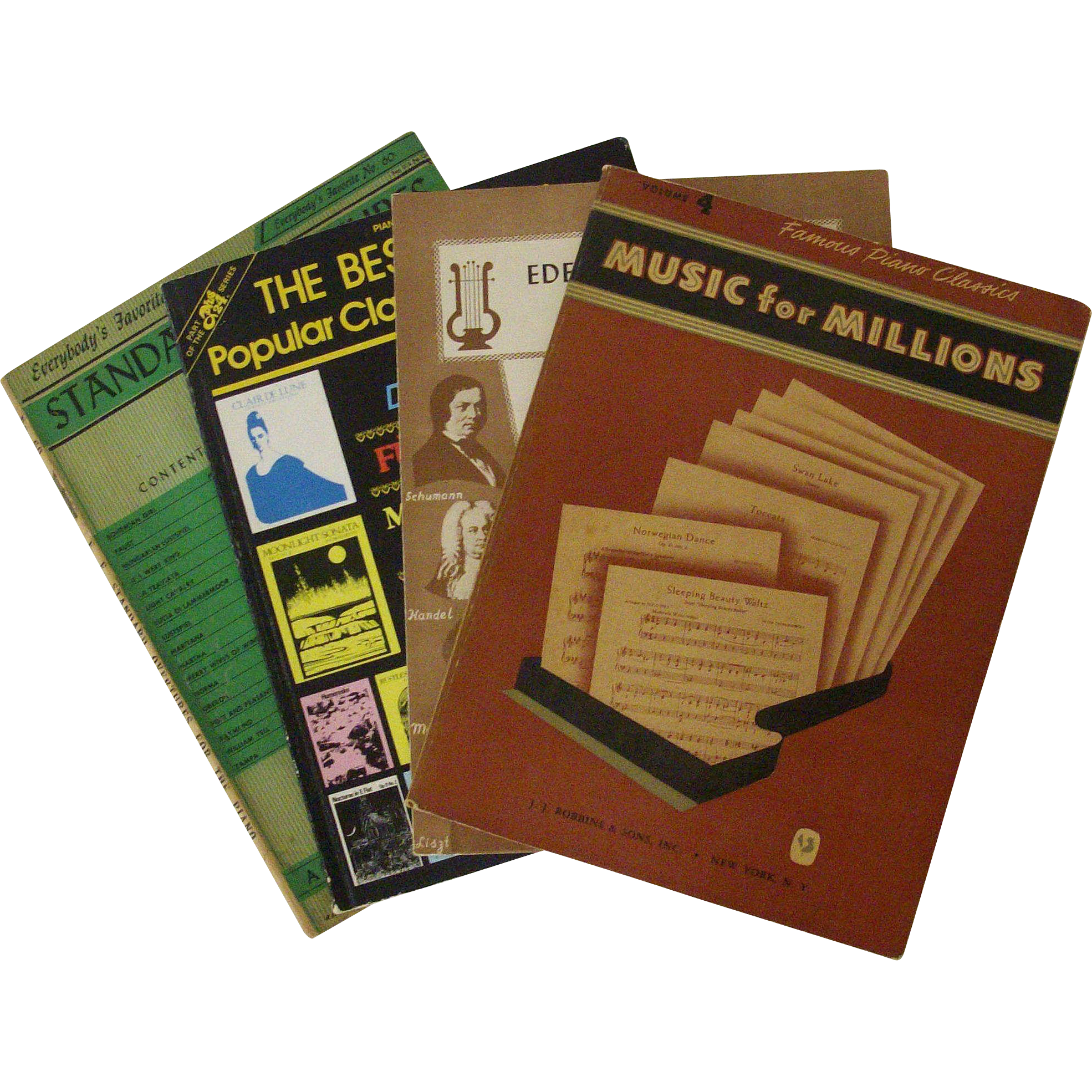 Collection Classical Music Books for Piano