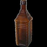 Amber Drakes Cabin 1860 Bitters Bottle