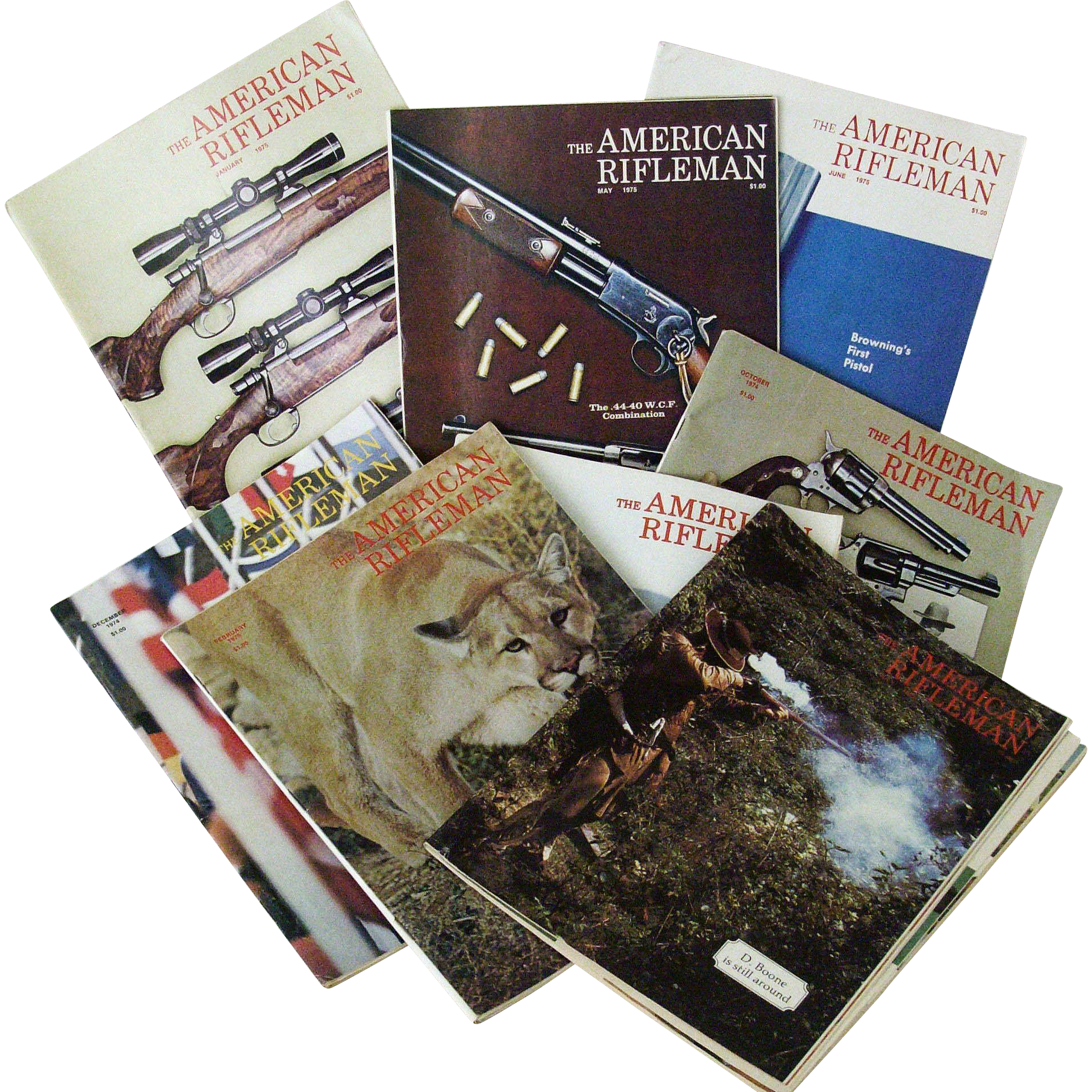 American Rifleman Magazine 1970s