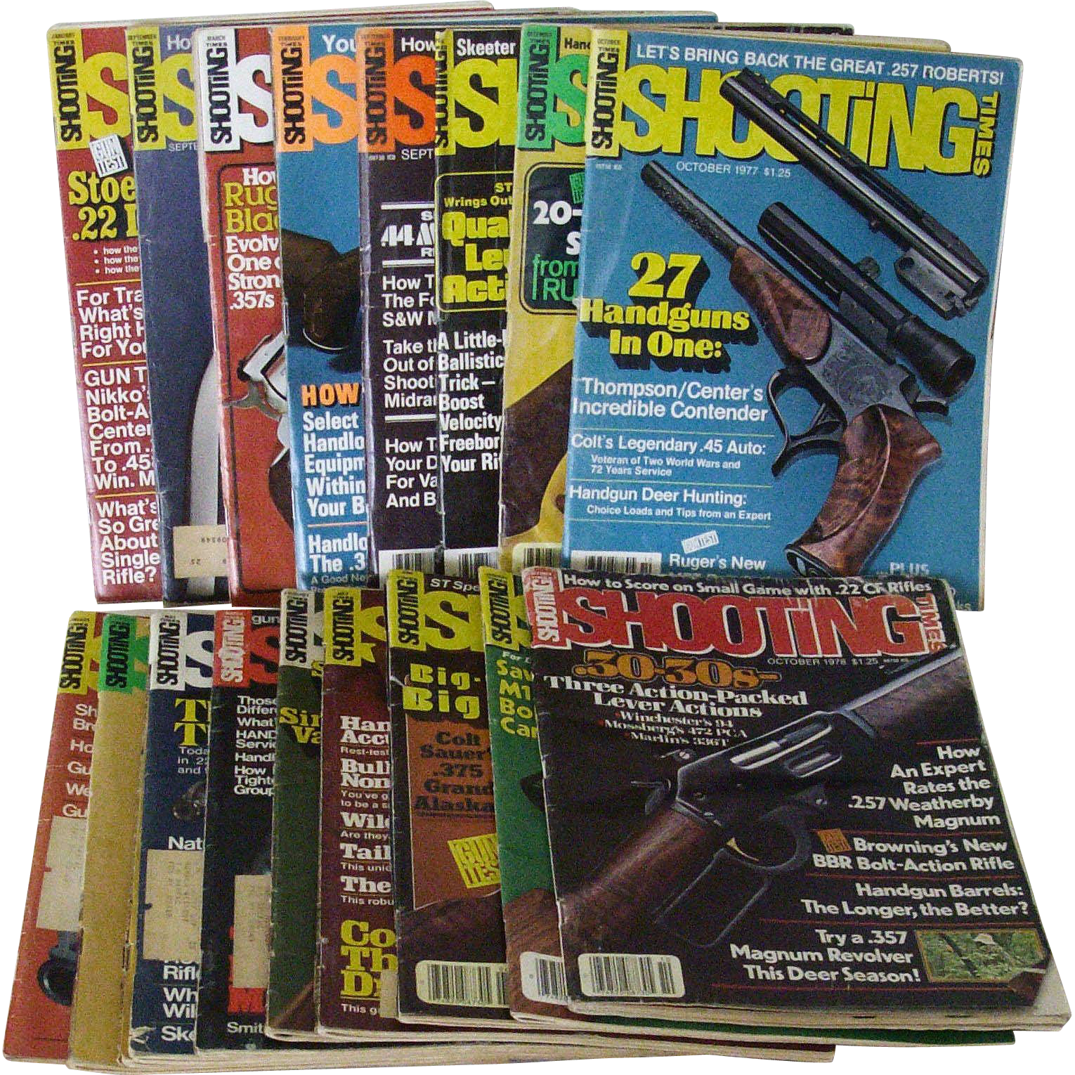 Mixed Collection Shooting Times 1970s