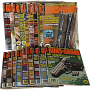 Mixed Collection Guns & Ammo Magazines Dated 1970s